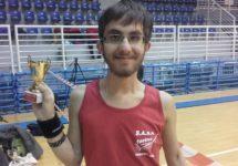 Grande Matteo Pirani al Campionato Italiano Paraclimbing